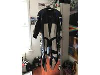 Leather 1 piece motorbike suit UK 44