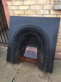 Complete Cast Iron Fireplace