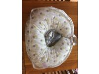 Boppy nursing Breastfeeding pillow with two cases