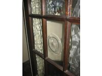 """2 x internal varnished glazed doors 30"""" wide"""