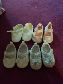 Baby converse pram shoe bundle