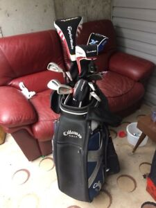 Callaway golf club set with Taylor made driver