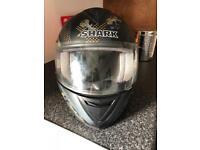 Shark helmet used once