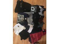 Bundle of men's clothes