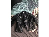 Leather and bomber jackets