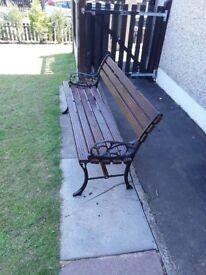 Garden bench,fantastic condition