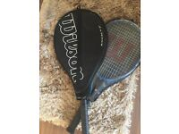 Wilson two tennis racquets rackets used once