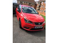 Seat ibiza 2014 one year MOT 39000 mileage,vw golf ,polo,yaris