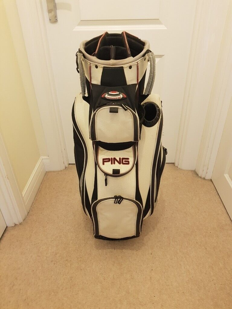 Ping Golf Bag Used Good Condition White In High Wycombe Buckinghamshire Gumtree