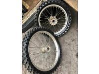 Honda wheels and tyres
