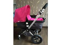 Bugaboo chameleon, pink, great condition