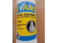 4 x 1 Litre Bottles of Evans Bar Spirit Optic Cleaner and Sanitiser - A steal at this price