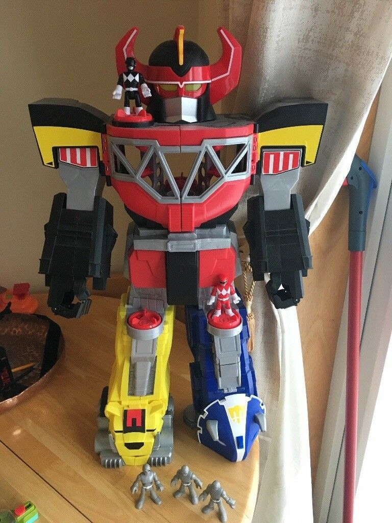 Imaginex Power Rangers Megazord Playset