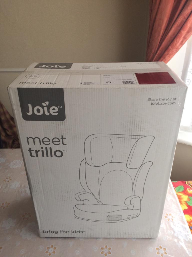 Brand new Joie Trillo car seat (salsa)