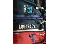 3 pair Superdry sweats