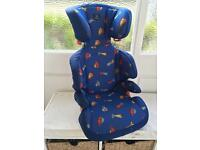 Mercedes Benz Car Seat for Small kids and Large kids, separates so only 1 seat ever needed RRP£20