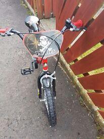 16 inch boys pirate bike