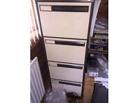 Metal filling cabinet - four drawer