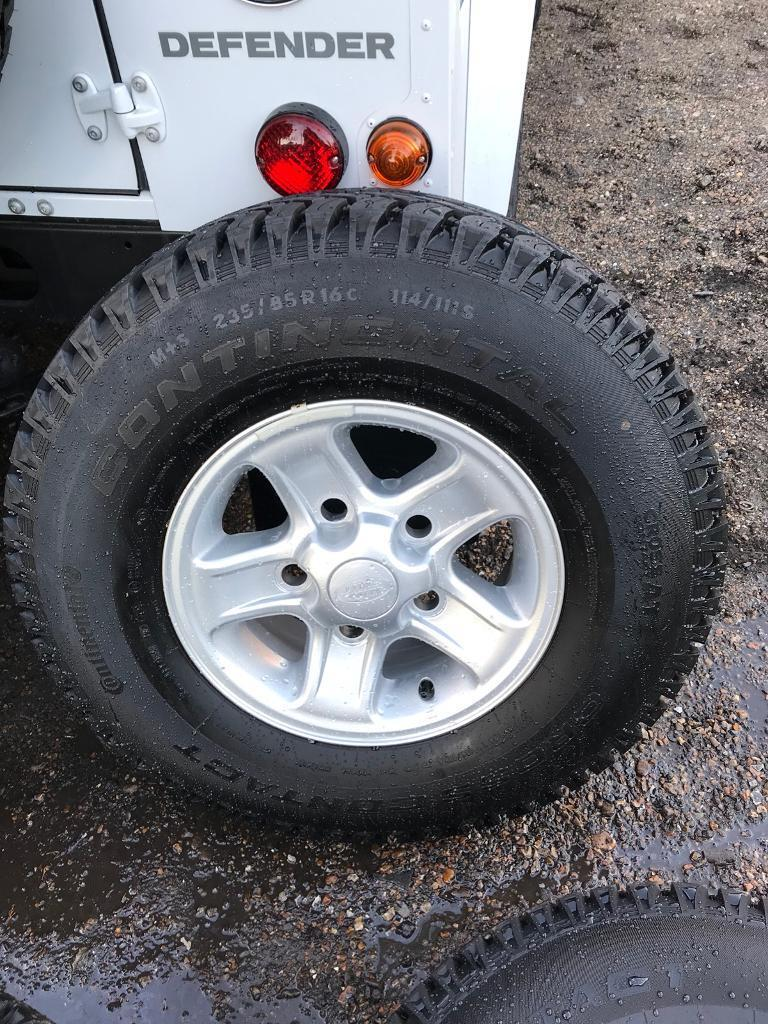 LAND ROVER DEFENDER BOOST ALLOY WHEELSET X4 2015 AS NEW