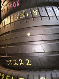 285/35/18 TYRE SHOP . PartWorn tyres . New tires . 285/35R18 Part Worn