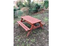 Picnic bench 6 seater