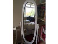 Vintage style freestanding mirror