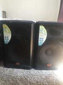 WHARFEDALE SPEAKERS FOR DJ'S