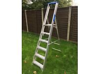 6 tread aluminium steps