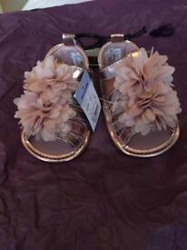 Baby Girls dress and shoes age 0-3months