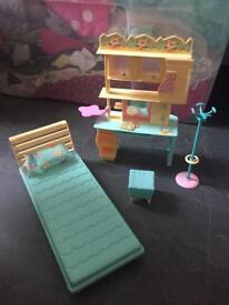 Barbie studio bed set