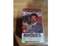 """Rhodes"" starring Martin Shaw. Video (VHS) 3 tapes."
