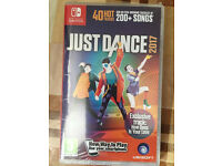 just dance 2017 game (Nintendo Switch) - brand new and sealed