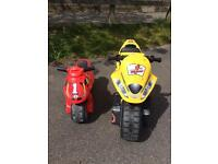 Children's Wheel Along Motorbikes