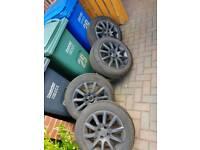 Vauxhall alloys (4 stud)