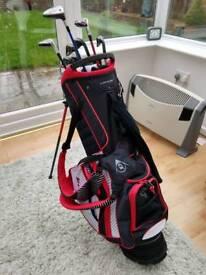 Golf clubs, bag & accessories