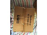 Original boxed Technics 1210's like NEW and Pioneer DJM 400