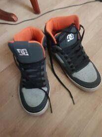 DC Spartan High WC Light Grey Shoes