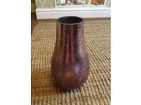 Next pink ombré crackle vase large size