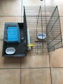 Bird cage and carry cage