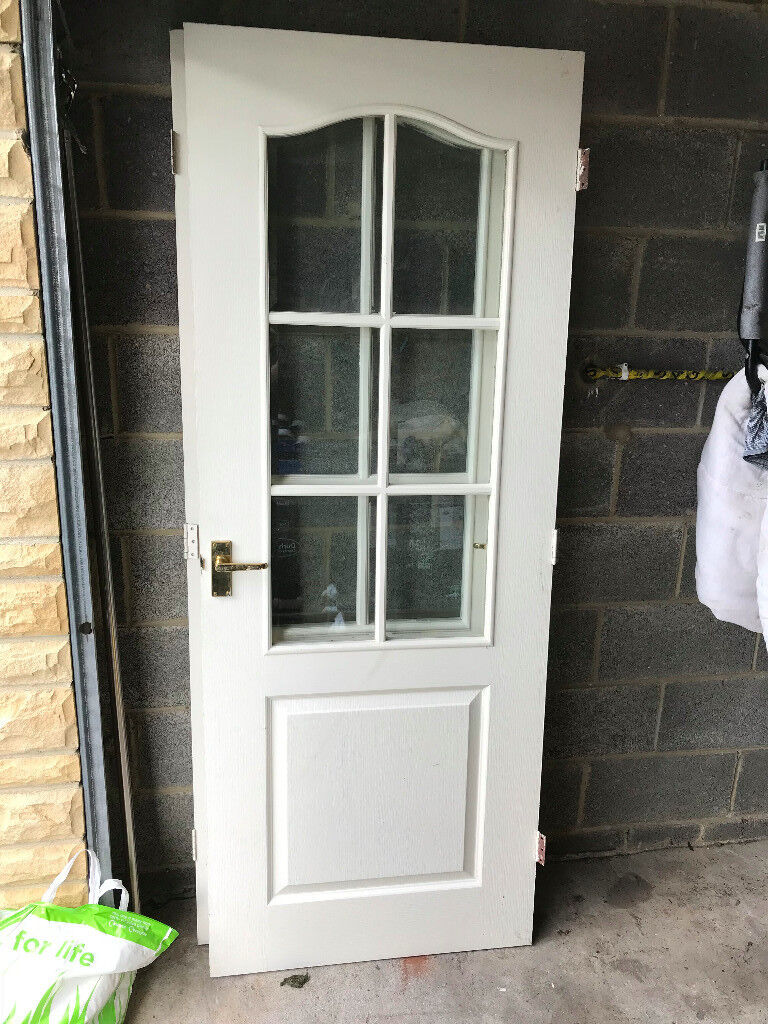 Pair Of Interior Glass Panel Doors In Crook County Durham Gumtree