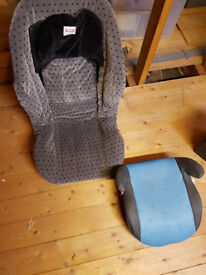 Britax child car seat and booster seat