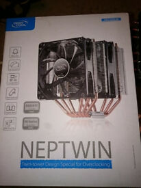 DeepCool CPU Air Cooler NEPTWIN V2 LEDs