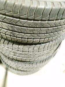 P265/60R18x4 MICHELIN LATITUDE TOUR HP 109H  ALL SEASON USED
