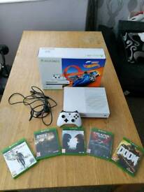 Xbox one S 1TB with games