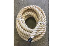 36mm decking rope x 9.5 metres, brand new, garden rope, diy rope, outdoor rope