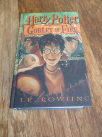 Harry Potter and the Goblet of Fire by J K Rowling (Hardback, 2000) - Large Print
