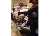 Joblot bedding and curtains