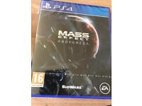 Brand new Sealed Mass Effect for PS4 open to swaps