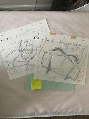 TRANSFORMERS JAPANESE BEAST WARS 2 II PRODUCTION ART! LIO CONVOY APACHE LOT 14
