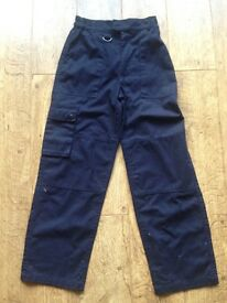 Official Scout Navy Trousers Age 9 - 10 years